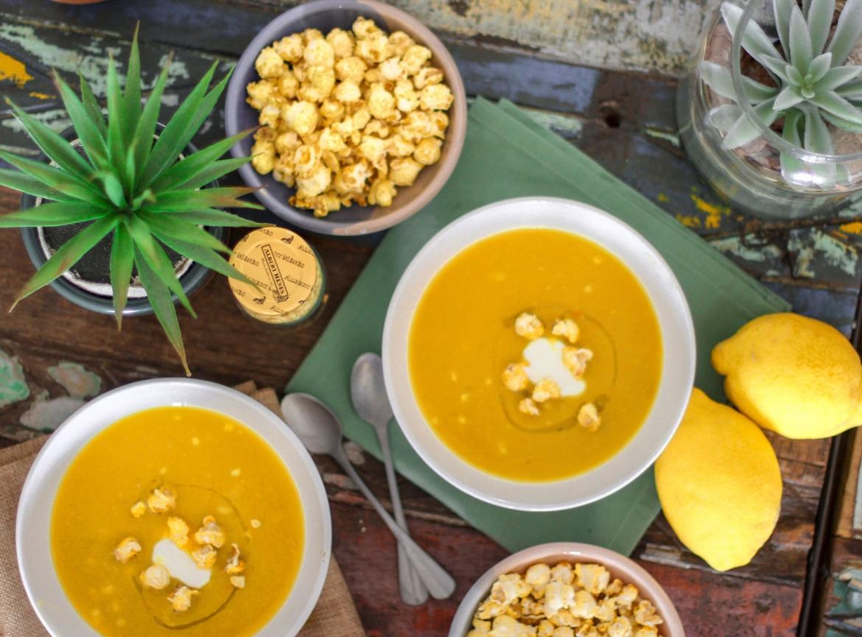 Лимонно-яичный суп