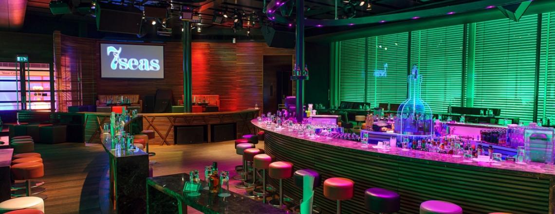 7seas, «Севен Сиз», ночной клуб в комплексе Columbia Plaza, Лимассол
