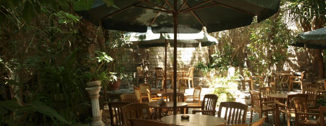 Apollo Garden Cafe, кафе Apollo Garden в Лимассоле (ЗАКРЫТО)