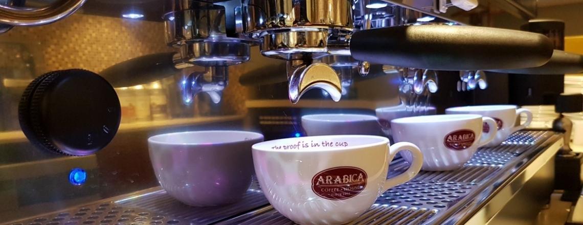 Arabica Coffee House, кофейня Arabica в Пафосе