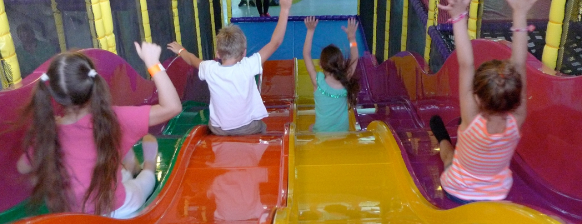 Детский развлекательный центр Wow Action Park в Ларнаке