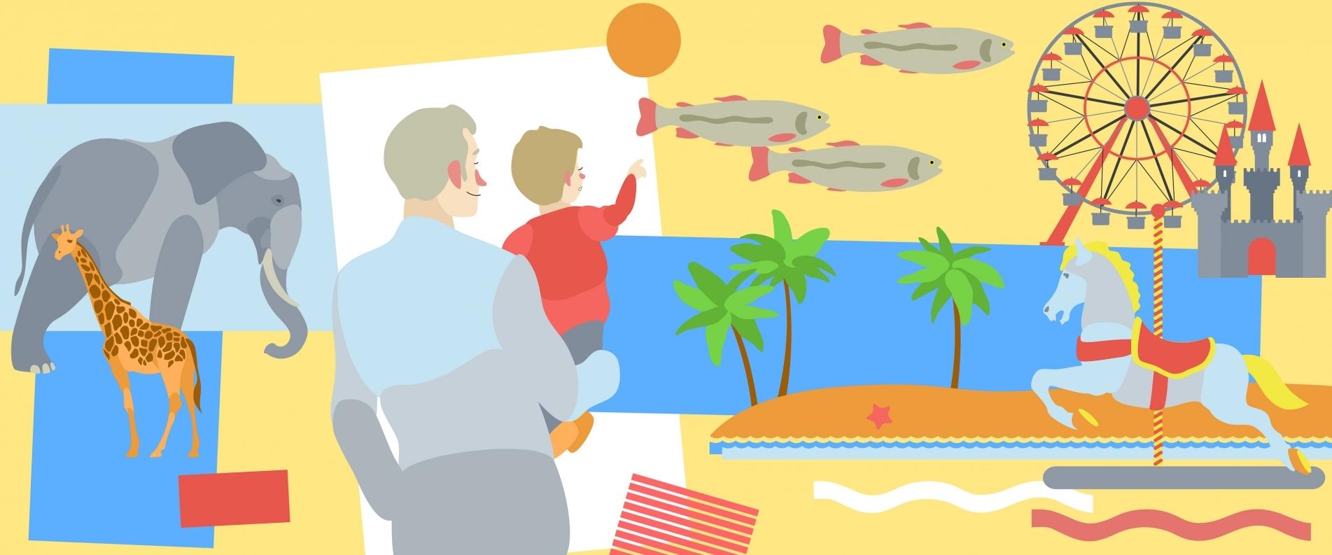 ТОП 5 лучших мест для отдыха с детьми 2-3 лет в выходные на Кипре