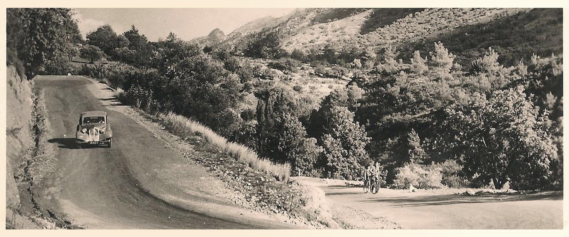 Дороги Кипра в прошлом