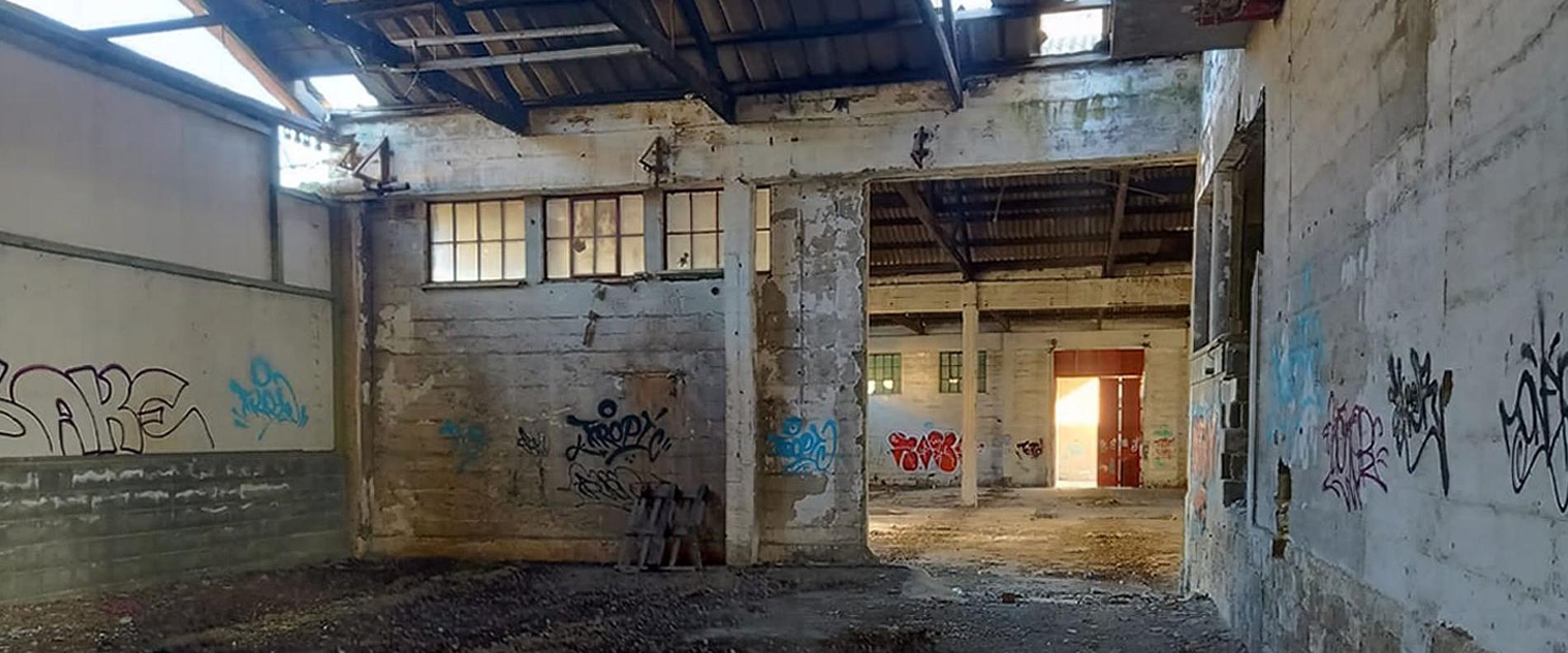 Заброшенный винзавод в центре Лимассола